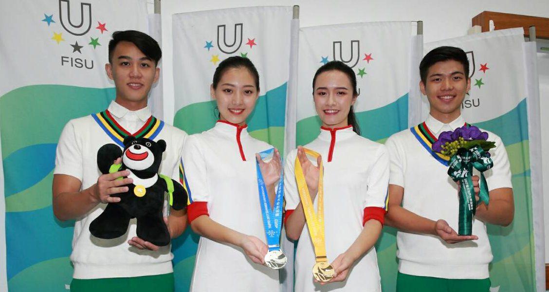【銘傳一週984S期】世大運獎牌相關設計 銘傳商設展現正體中文之美