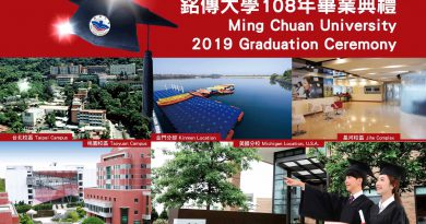 Farewell 4,475 Graduates, 3 Graduation Ceremonies on Taipei and Taoyuan Campuses